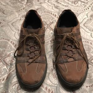 Men's Clark Brown Loafers Size 10M